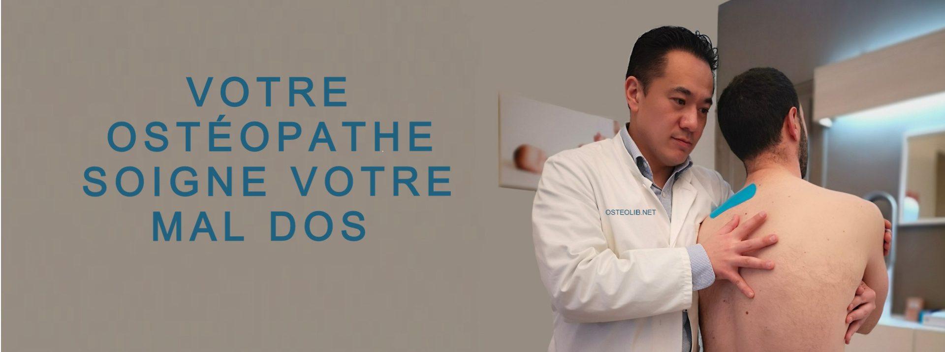 ostéopathe paris traite mal de dos chez l homme