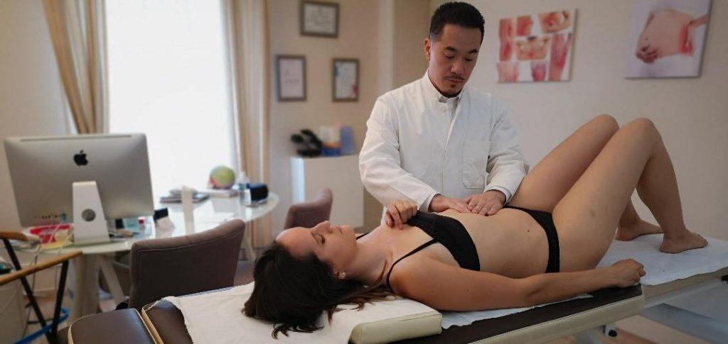 ostéopathe traite les maux de ventre